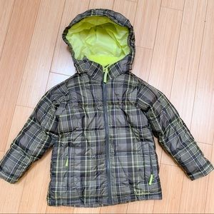 Boys L.L. Bean winter coat jacket, M 5-6.